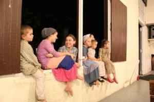 children at Kingdom Fellowship Weekened
