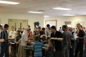 dining at Kingdom Fellowship Weekend