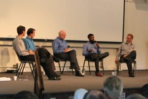 panel discussion at Kingdom Fellowship Weekend