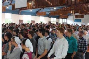 tabernacle at Kingdom Fellowship Weekend
