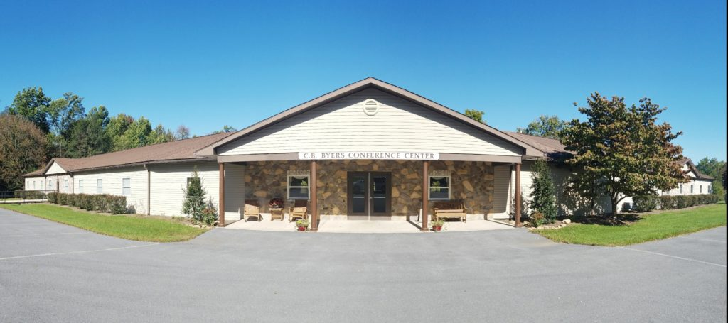Kingdom Fellowship lodging at Byers Conference Center exterior